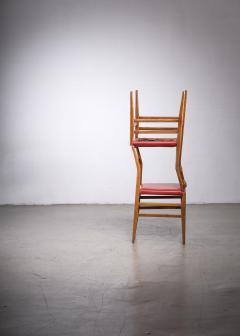 Gio Ponti Pair of Gio Ponti Leggera chairs - 1905857