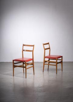 Gio Ponti Pair of Gio Ponti Leggera chairs - 1905858