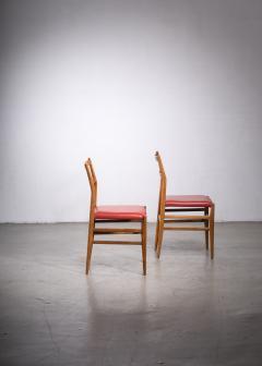 Gio Ponti Pair of Gio Ponti Leggera chairs - 1905859