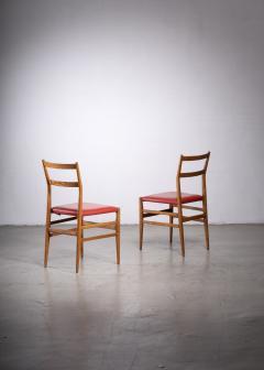 Gio Ponti Pair of Gio Ponti Leggera chairs - 1905860