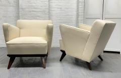 Gio Ponti Pair of Gio Ponti Style Lounge Chairs - 1910425