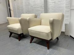 Gio Ponti Pair of Gio Ponti Style Lounge Chairs - 1910426