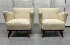 Gio Ponti Pair of Gio Ponti Style Lounge Chairs - 1910427