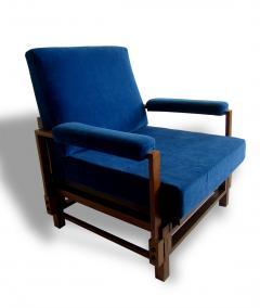 Gio Ponti Pair of Italian Armchairs - 1201505