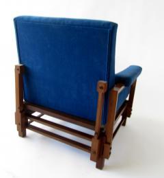 Gio Ponti Pair of Italian Armchairs - 1201507