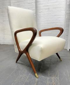 Gio Ponti Pair of Italian Lounge Chairs Style of Gio Ponti - 2068507
