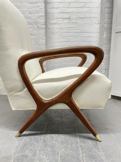 Gio Ponti Pair of Italian Lounge Chairs Style of Gio Ponti - 2068508