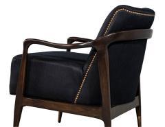 Gio Ponti Pair of Mid Century Modern Gio Ponti Style Club Chairs - 1559733