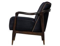 Gio Ponti Pair of Mid Century Modern Gio Ponti Style Club Chairs - 1559734