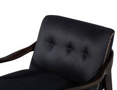 Gio Ponti Pair of Mid Century Modern Gio Ponti Style Club Chairs - 1559738