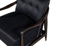 Gio Ponti Pair of Mid Century Modern Gio Ponti Style Club Chairs - 1559739
