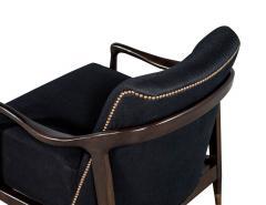 Gio Ponti Pair of Mid Century Modern Gio Ponti Style Club Chairs - 1559740