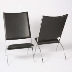 Gio Ponti Pair of Pontiponti Chairs by Gio Ponti for Pallucco - 770001