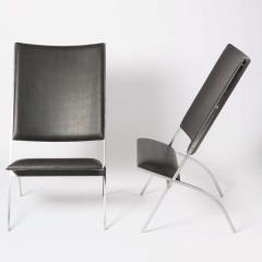 Gio Ponti Pair of Pontiponti Chairs by Gio Ponti for Pallucco - 770002
