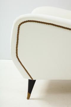 Gio Ponti Pair of Sculptural Italian Vintage Lounge Chairs Attributed to Gio Ponti - 2133001