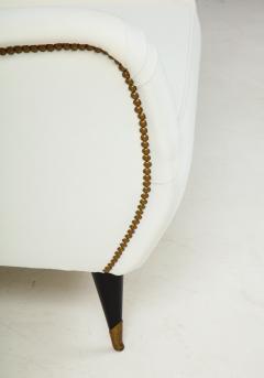 Gio Ponti Pair of Sculptural Italian Vintage Lounge Chairs Attributed to Gio Ponti - 2133006