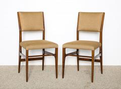 Gio Ponti Pair of Side Chairs by Gio Ponti for M Singer Sons - 479612
