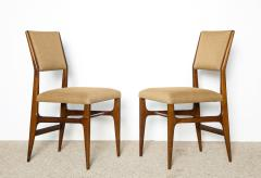 Gio Ponti Pair of Side Chairs by Gio Ponti for M Singer Sons - 479614