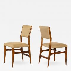 Gio Ponti Pair of Side Chairs by Gio Ponti for M Singer Sons - 535006