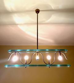 Gio Ponti Rare 1940s Ceiling Light attr to Gio Ponti - 2112419