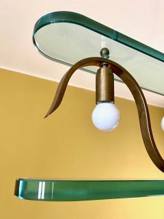 Gio Ponti Rare 1940s Ceiling Light attr to Gio Ponti - 2112421