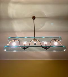 Gio Ponti Rare 1940s Ceiling Light attr to Gio Ponti - 2112425