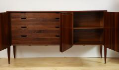 Gio Ponti Rare 3 Door Cabinet designed by Gio Ponti for M Singer Sons - 1209199