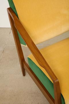 Gio Ponti Rare Pair of Lounge Chairs by Gio Ponti - 1252411