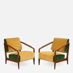 Gio Ponti Rare Pair of Lounge Chairs by Gio Ponti - 1316841