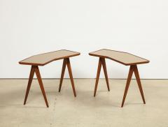Gio Ponti Rare Pair of Side Tables by Gio Ponti Pietro Chiesa - 1187235