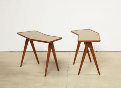 Gio Ponti Rare Pair of Side Tables by Gio Ponti Pietro Chiesa - 1187236