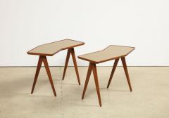 Gio Ponti Rare Pair of Side Tables by Gio Ponti Pietro Chiesa - 1187241