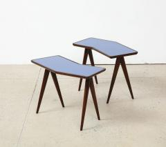 Gio Ponti Rare Pair of Side Tables by Gio Ponti Pietro Chiesa - 1466179