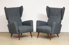 Gio Ponti Rare pair of Lounge Chairs by Gio Ponti - 1007472