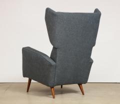 Gio Ponti Rare pair of Lounge Chairs by Gio Ponti - 1007476