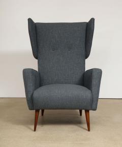 Gio Ponti Rare pair of Lounge Chairs by Gio Ponti - 1007478