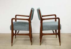Gio Ponti Rare pair of armchairs by Gio Ponti - 1223175