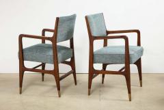 Gio Ponti Rare pair of armchairs by Gio Ponti - 1223177