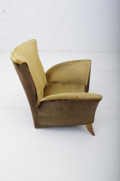 Gio Ponti Sculptural Italian Lounge Chair 1960s - 1563576