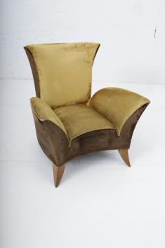 Gio Ponti Sculptural Italian Lounge Chair 1960s - 1563577