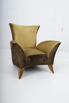 Gio Ponti Sculptural Italian Lounge Chair 1960s - 1563578