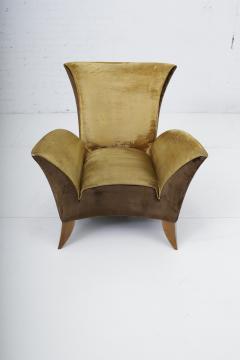 Gio Ponti Sculptural Italian Lounge Chair 1960s - 1563581