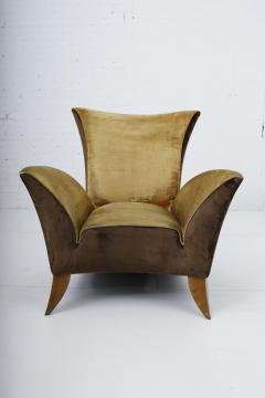 Gio Ponti Sculptural Italian Lounge Chair 1960s - 1563583