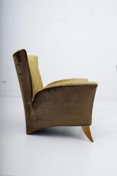 Gio Ponti Sculptural Italian Lounge Chair 1960s - 1563584