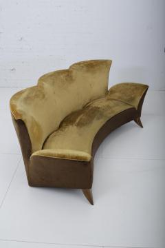 Gio Ponti Sculptural Italian Sofa 1960s - 1563567