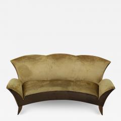 Gio Ponti Sculptural Italian Sofa 1960s - 1565173