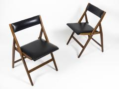 Gio Ponti Set of 12 Eden Foldable Chairs for Reguitti 1960s - 933930