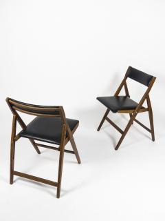 Gio Ponti Set of 12 Eden Foldable Chairs for Reguitti 1960s - 933931