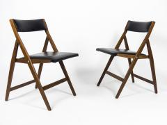 Gio Ponti Set of 12 Eden Foldable Chairs for Reguitti 1960s - 933933