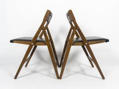 Gio Ponti Set of 12 Eden Foldable Chairs for Reguitti 1960s - 933941